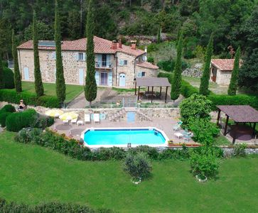 Photo for Private villa with pool and Jacuzzi in Tuscany - Exclusive use