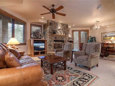 Photo for NO CLEANING FEE ~ CX336 by Mountain Resorts: Spacious ~ Steps to ski trails ~ Boot Dryers