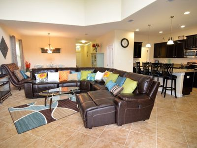 Photo for Spetacular Resort 5 Bed 5 Bath Villa With Games Room and Spa