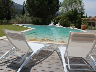 Photo for House in Aix countryside with landscaped garden and pool .South of France