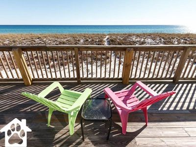 Photo for Directly on the beach & PET FRIENDLY! COME TO THE BEACH and visit us in 2018!
