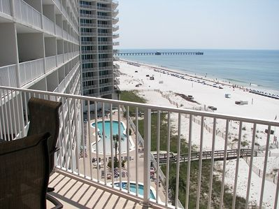 Beach View from Spacious Balcony