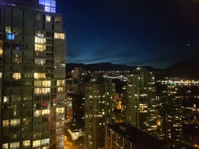 Photo for Fully Furnished 2BR 1BA Amazing Ocean View Suite Downtown( Coal Harbour)