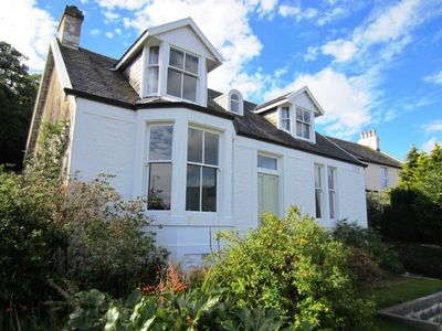 Photo for Lovely well appointed loch view villa in the village of Sandbank, near Dunoon, Argyll