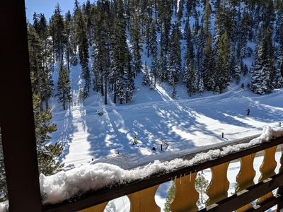 Photo for Private ski chalet/condo with easy access to StageCoach lift