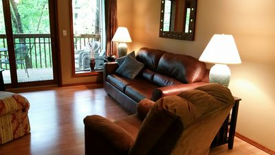 Photo for Come  relax, rest and rejuvinate at our Notch Cozy Condo.