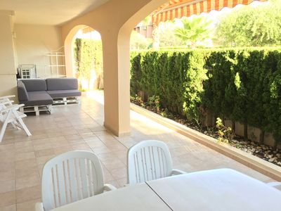 Photo for Fantastic Apartment in 1st Line on the Arenal Beach of Javea