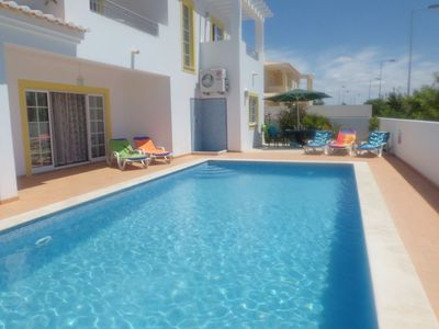 Photo for Family Friendly 4 bed Villa close to stunning beach with WiFi