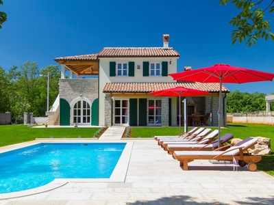 Photo for Beautiful new villa with private pool near Rabac