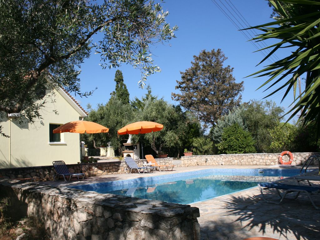 Beautiful Villa With Private Swimming Pool On The Greek Island Of Zakynthos.