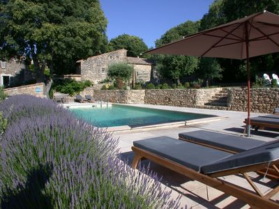 Photo for Mas d'Oléandre is a Provencal farmhouse situated in a small hamlet.
