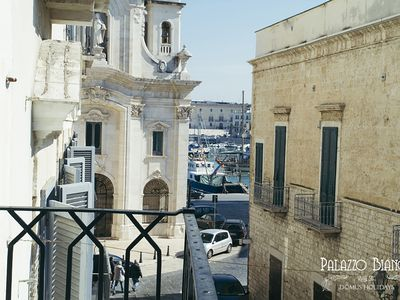 Photo for Bianchi Palace Domus Holidays - Historical Apartment with harbor view