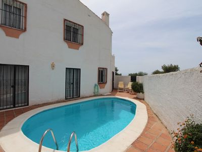 Photo for Villa with amazing sea views, short walk to beach