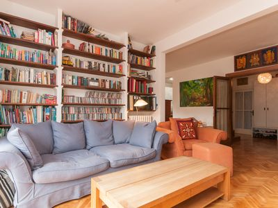 Photo for Beautiful family penthouse in central Barcelona