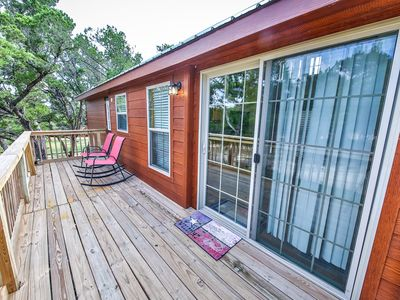 Photo for Hill Country Cabin-Pool Access, Pet Friendly**