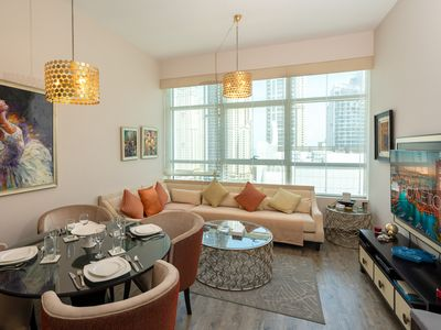 Photo for Homely 2 Bedroom Apartment in Dubai Marina