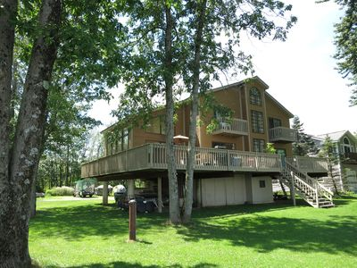 Photo for Gorgeous Views on Quiet, Private Setting on Saratoga Lake Limit 8 people