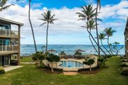 March 29-4/1 Sale! 2 Bed Oceanfront in Kapaa (208-2)