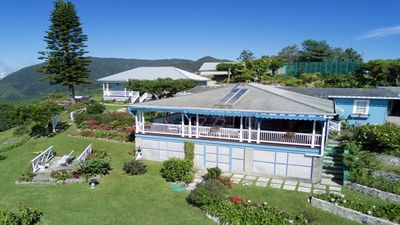 Photo for A 3 bed, 3 bath home 4,000 up in Jamaica's Blue Mountains with stunning views