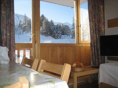 Photo for 2 rooms with a mountain view at the bottom of the slopes