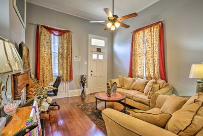 Explore the Big Easy from this 2-bedroom, 1-bath vacation rental house.