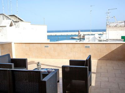 Photo for Characteristic Apartment In Monopoli For Six People With Breathtaking Sea View