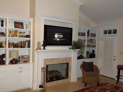 """Great Room with 50"""" TV"""
