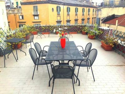 Photo for Panoramic, Romantic, Central with private terrace