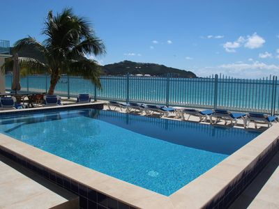 Owner is Mr. Flexible - beautiful beachfront at The Villas On Great Bay