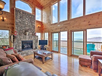 Photo for NEW! Getaway w/Game Room & Views, 3Mi to Beech Mtn