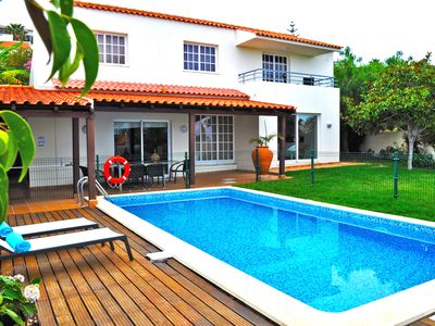 Photo for Exclusive ocean view villa - private garden and pool