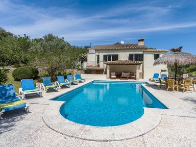 Photo for Casa Olivia - Original Majorcan Country House with Private Pool, all Commodities and Breathtaking Views !! - Free WiFi