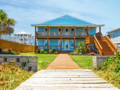 Photo for Ocean Front Property- New Upgraded Furnishings- Private Beach Access