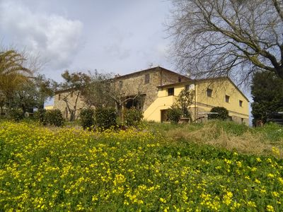 Photo for Agriturismo Il Poderino- Alloro ground floor apartment- 30 Km from Volterra