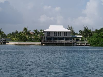 Photo for water front, large dock, nice beaches, quite area, dolphins neighbors, canal