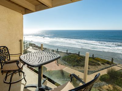 Photo for Once Upon Tide! Oceanfront Condo, Near Beach, Pool