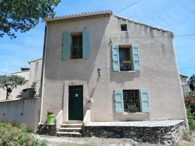 Photo for charming house 3 bedrooms, lounge, terrace, barbecue has 35km of the sea ....