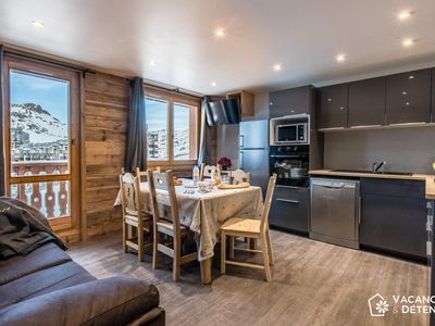 Photo for (301) Val Claret: Luxury Apartment for 10 People with Direct Slope Access