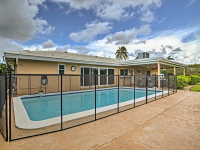 Photo for NEW! Riviera Beach Home w/ Pool - Walk to Beach!