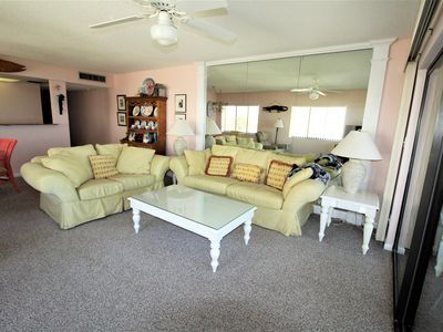 Photo for Land's End 10-405 Top Floor Corner Unit Direct Gulf Front POOL WIFI Breathtaking Views!