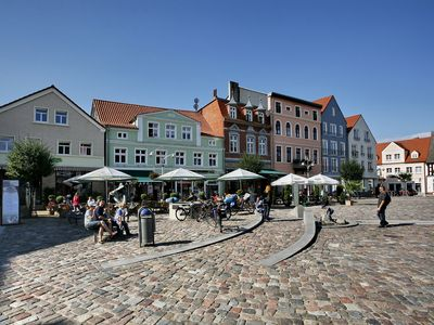 Photo for Modern apartment / apartments in a prime location on the market square in the seaside resort Ueckermünde
