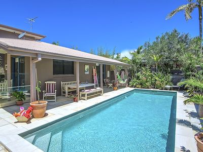 Photo for Almost French, Holiday House with Character, Space, Pool and Beach across road.