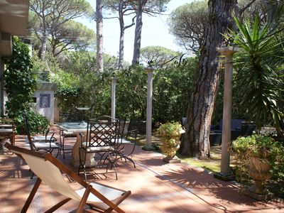 Photo for ♥ THE HOUSE IN THE PINETA | Villa with garden + BBQ two minutes from the sea ♥