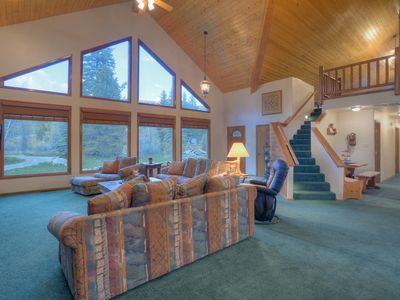 Photo for Vallecito Lake Family Retreat Log Style Home In The Woods
