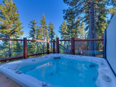 Photo for Huckleberry - Luxury Lake View Home in North Lake with Hot Tub