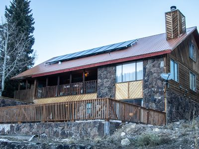 Photo for High End Mountain Retreat- In town with incredible views and much more!