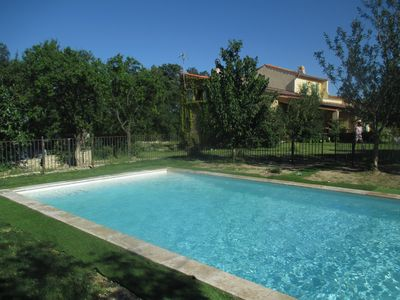 Photo for Villa with swimming pool, quiet, between Cévennes and garrigue.