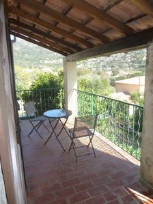 Photo for BEAUTIFUL VILLA ON THE HEIGHT OF BORMES-LES-MIMOSAS WITH POOL