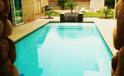 Pool Can Be Seen At Nearly Every Turn Of The Home, Very Cool