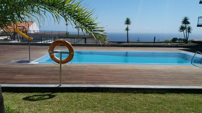 Photo for SWIMMING POOL, incredible SEA VIEW, free WIFI, CHILDREN WELCOME, long stays